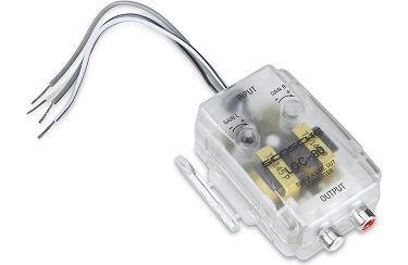 How do i hook up a line output converter