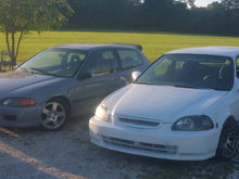 One on the left is my b18c1 and the one on the right is a b16