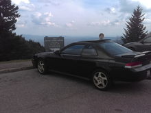 From sea level to 4500 ft on the blueridge parkway.