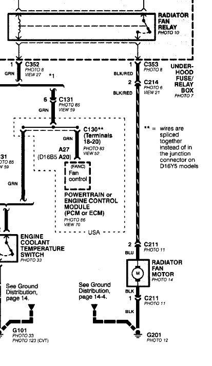 Radiator Fan Wiring Problem - Honda-tech