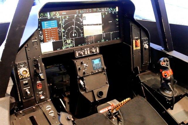 The F35 Cockpit  F35 Lightning II