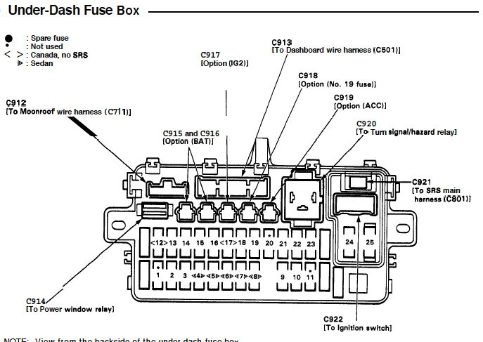 Fuel Pump Wiring Diagram - Honda-tech