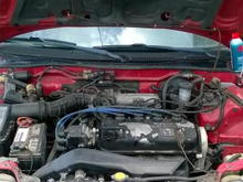 My 89' Rio Red Honda CRX Si