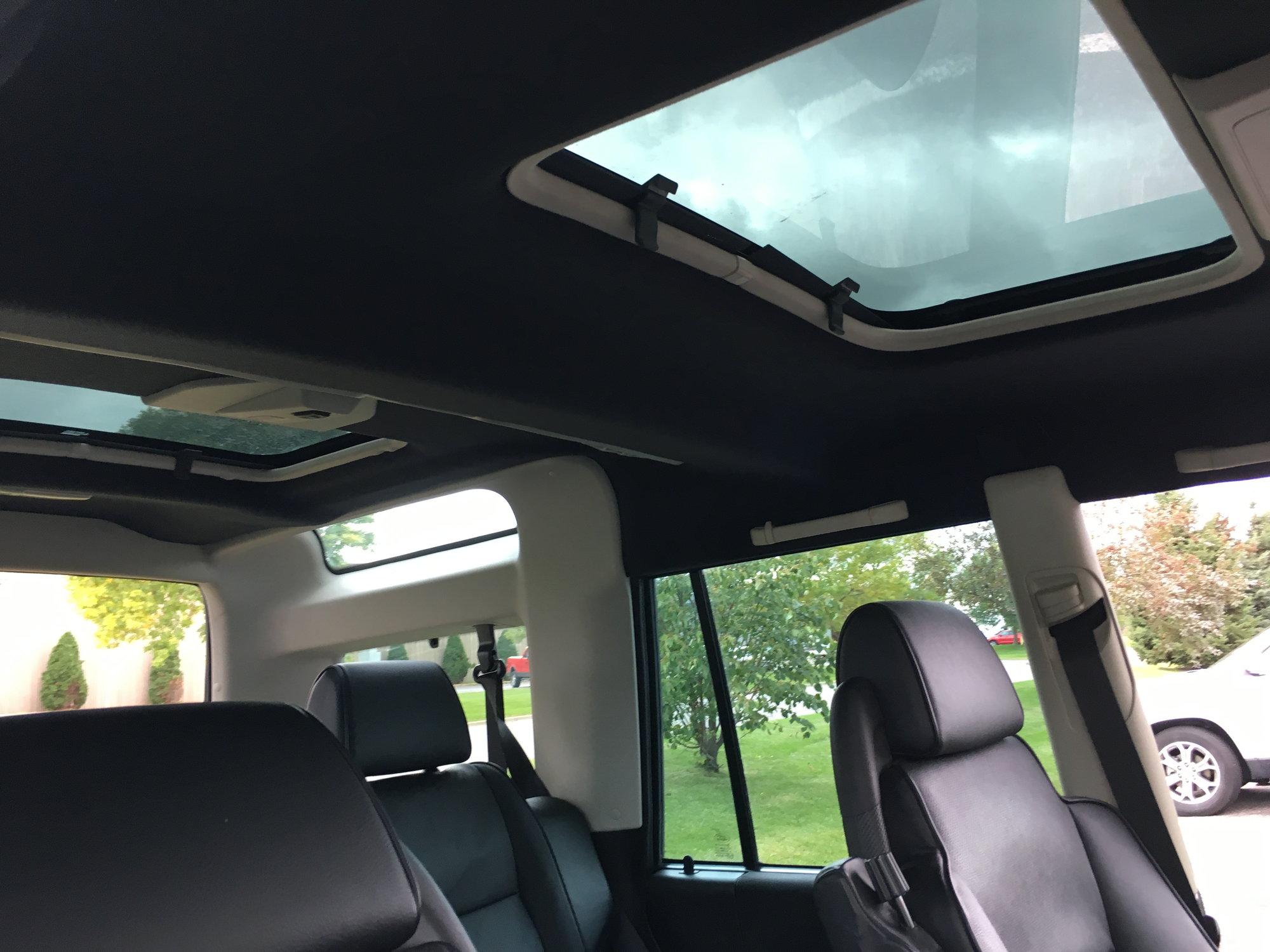 Land Rover Discovery Sunroof Drain Plastics 2 sets