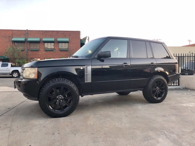 Range Rover Lifted >> L322 2 Inch Lift Kit And 18 Inch Wheels Land Rover Forums Land