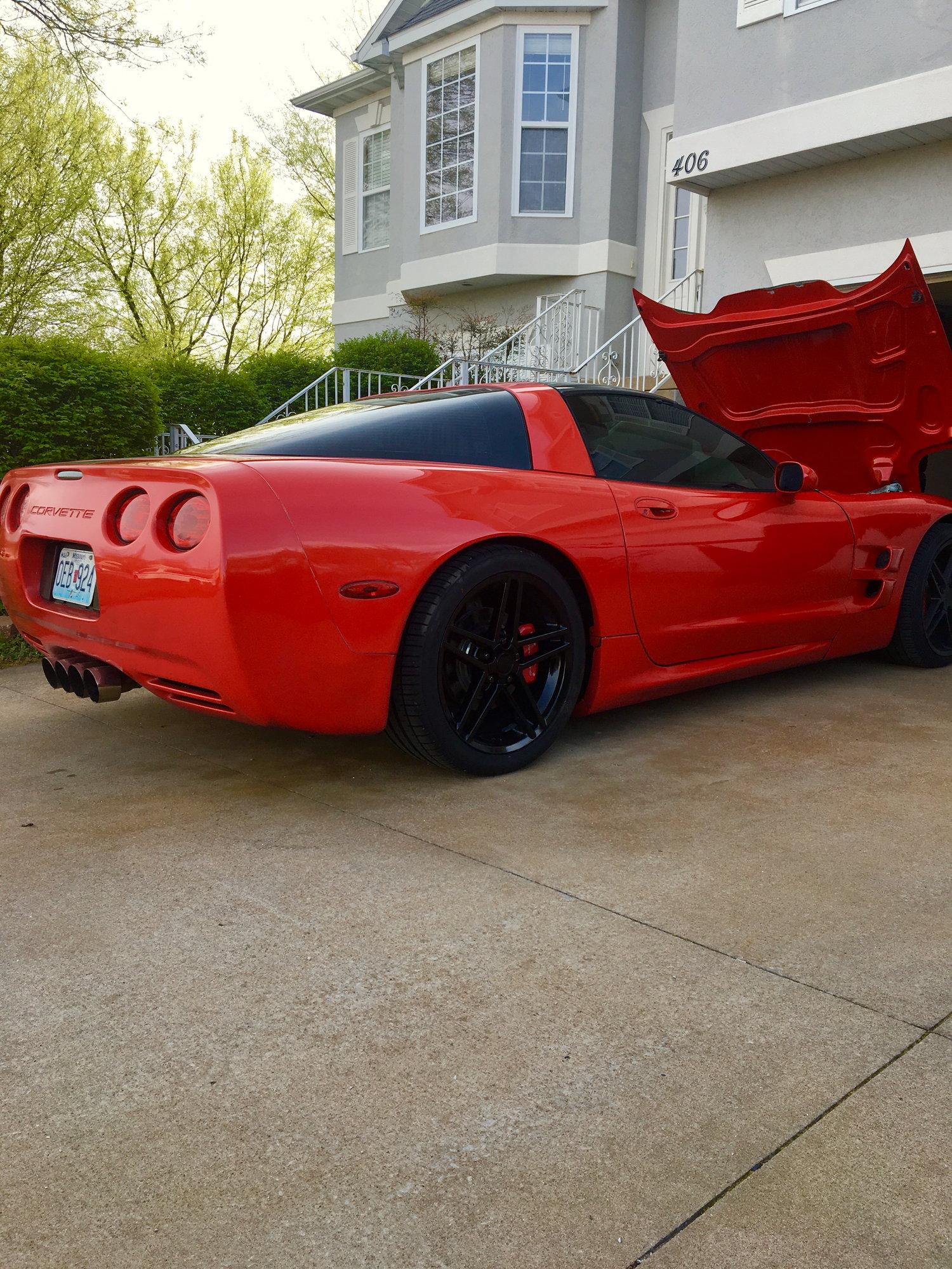 98 vette built for big boost - LS1TECH - Camaro and Firebird