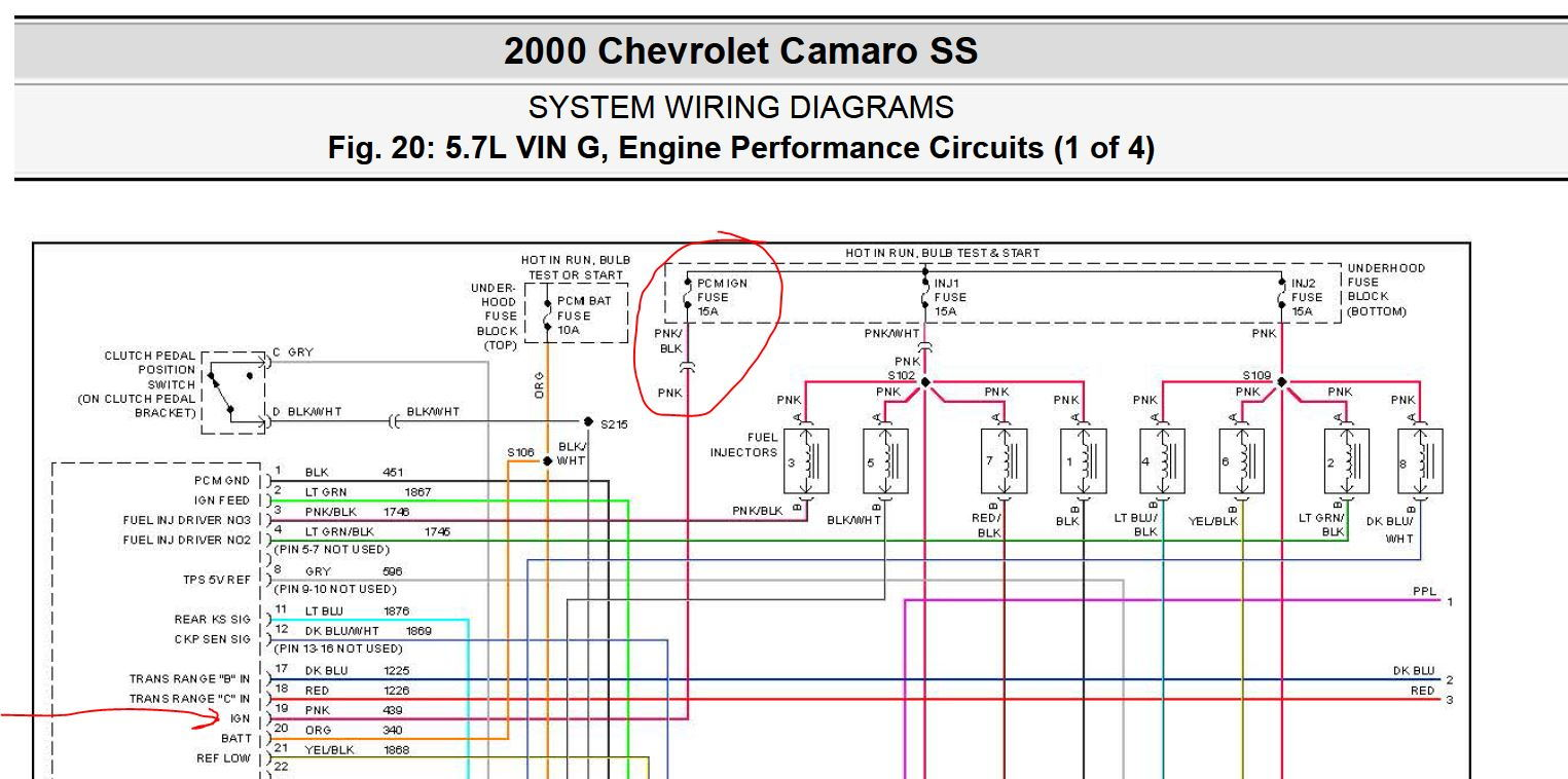 Wiring Diagram 2000 Chevy Camaro Ss Libraries Pcm Fuse Libraryi Jumped To Conclusions Thinking That The Must Not