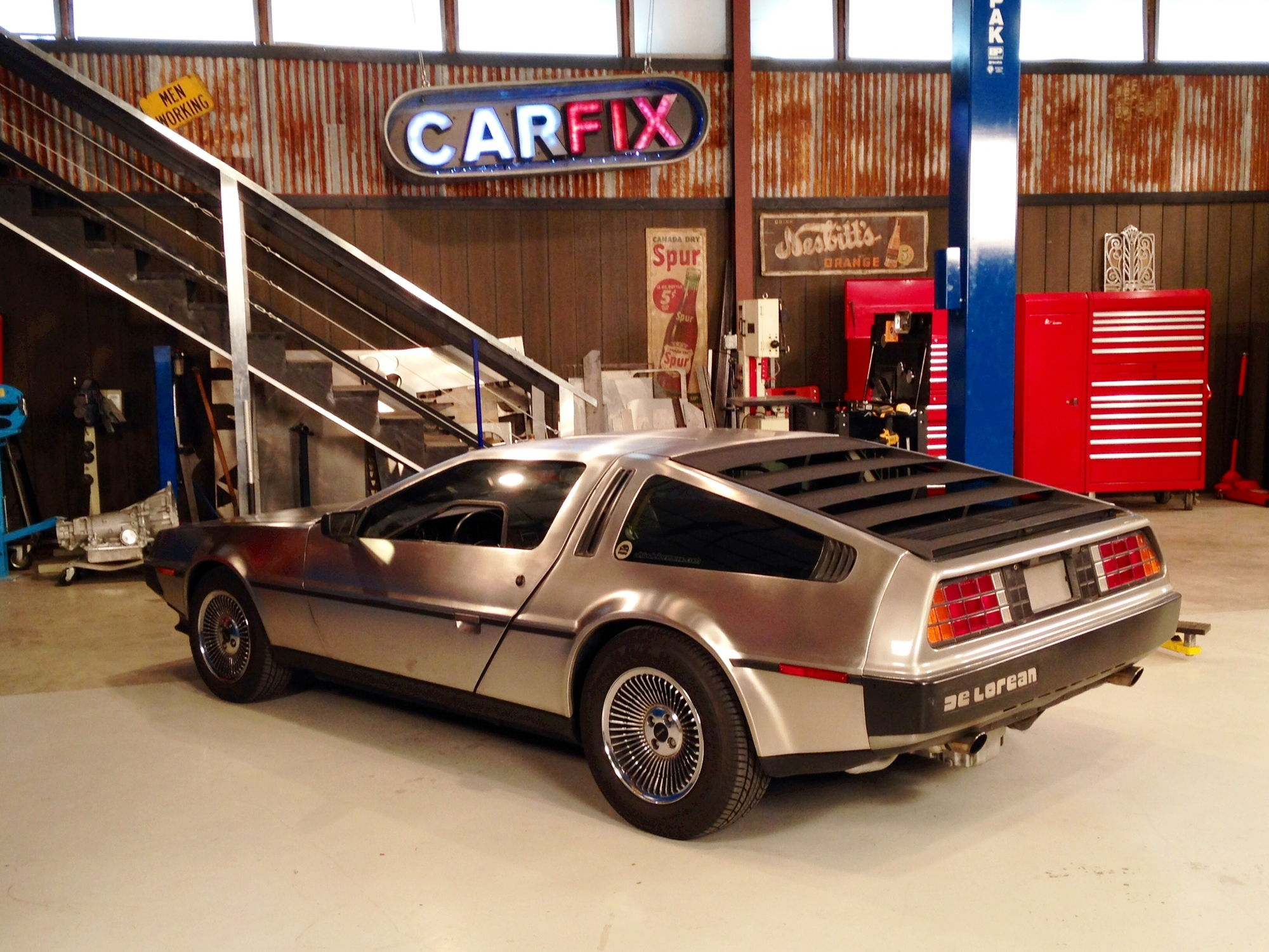 My Car LS1 DeLorean Used For An Episode of Car Fix on Velocity