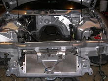 painted  engine bay