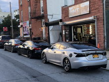 Keviar, milton's and my car at the Art of tint
