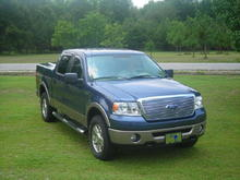 2006 F150 Lariat 4x4 with Roush grill