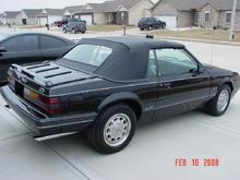 1986 Mustang Conv 5.0L