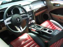 2005 Mustang GT interior