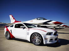 Mustang Thunderbirds One-Off