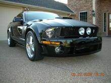 Mustang GT 08 - Rousch front fascia