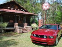 Old Texaco station