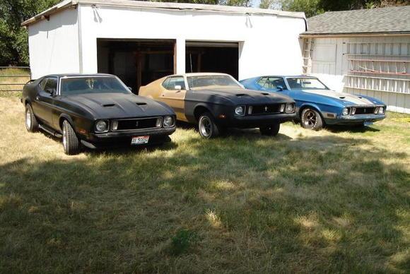 1973 Sportroof 1973 Mach I Q code 1973 Mach I H code