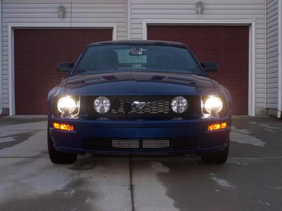 Headlights on... Need the Foglights next time