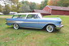 1957 Pontiac Safari 2 door wagon V8 tri power