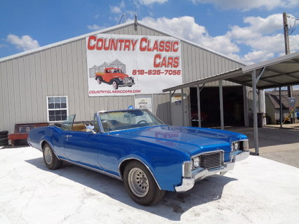 1968 Oldsmobile Delmont 88 Convertible #12039