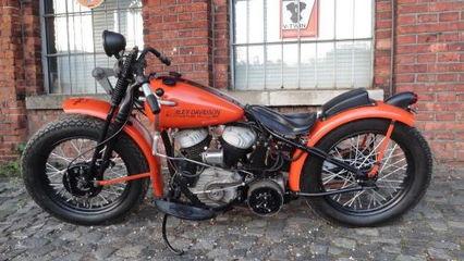 1942 Harley-Davidson Flathead WLA