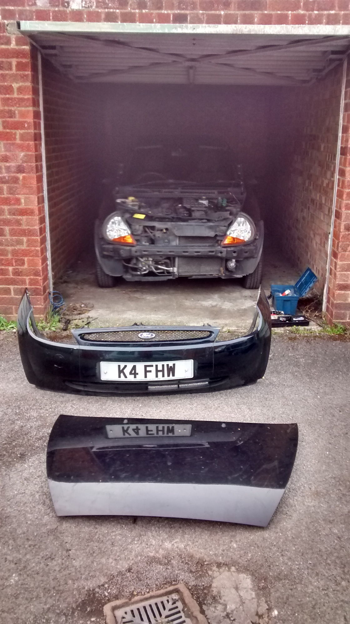 Ford KA 17 Zetec SE Conversion