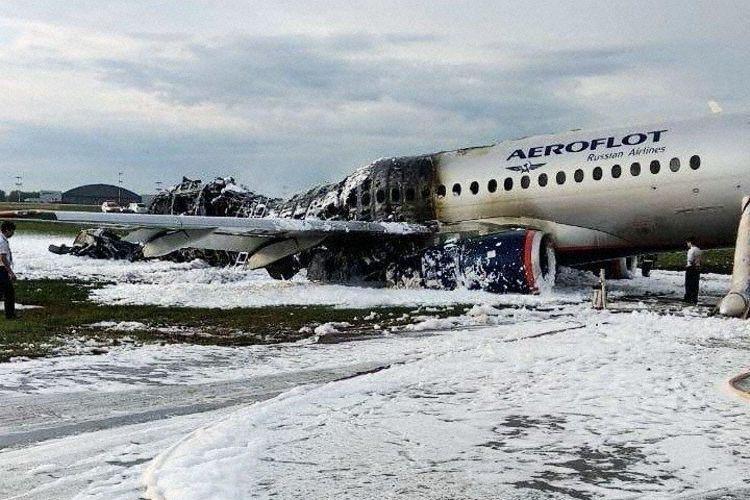 Sheremetyevo Superjet 100 in flames - Page 19 - PPRuNe Forums
