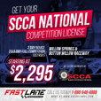 SCCA, NASA, VARA & FIA Competition Licensing!  for sale $2,295