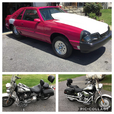 Drag car and motorcycle   for sale $12,000