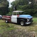 1957 Chevrolet 3100 BBW Deluxe Cab