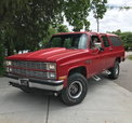 1983 Chevrolet K10 Suburban