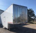 42' T&E Aluminum Gooseneck Stacker, Loaded