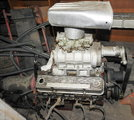 Chevy SM Blower Engine & Racing Transmission