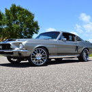 1968 Ford Mustang GT500 KR, Marti Report, A/C