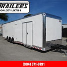 2020 Cargo Mate 34ft Bath Package Car / Racing Trailer