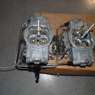 Almost Brand New, Matched Set of Holley 950 SuperCharged Car