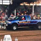 Ford Diesel Pulling Truck
