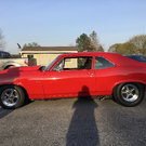 1969 v7 ysi race Procharger 275 radial street/strip nova