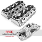 Complete Cylinder Heads + FREE Intake