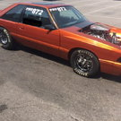 1984 Mercury Capri Drag Car