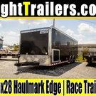 8.5x28 Haulmark Edge | Race Car Trailer