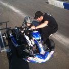 Racing Go Kart: Arrow X2 Chassis, Rotax 125 Micro-Max Engine