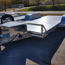 2019 Sundowner 16' All Aluminum Open Car Trailer with Spare