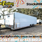 2021 Pro Stock Elite 34' Trailer - Dragster Lift- Loaded OUT