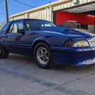 1989 Ford Fox Mustang drag car