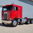 1977 KENWORTH SEMI TRACTOR SHOW TRUCK CABOVER WITH SLEEPER