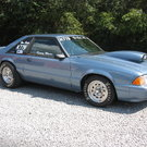 90 MUSTANG LX BRACKET CAR