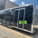 24 HAULMARK EDGE PRO ENCLOSED RACE TRAILER HAULMARK