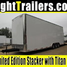 8.5x30 Stacker Race Trailer - Pro Loaded Package - $30,999