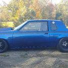 Olds drag car 5.80